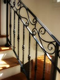 Indoor Banisters Wrought Iron Railings Wrought Iron Railings For Indoor