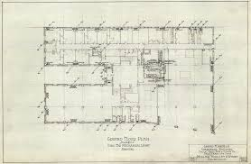 Mechanical Floor Plan Ground Floor Plan Used For Mechanical Layout Heating For