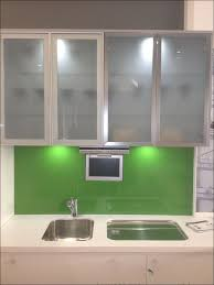 kitchen upper kitchen cabinets with glass doors black display