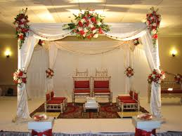 indian wedding decorations for outdoor wedding cement patio