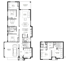 Narrow Block Floor Plans 13m Wide House Designs Perth Single And Double Storey Apg Homes