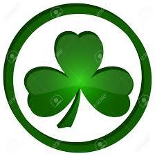 Shamrock Green Green Shamrock As A Symbol Of St Patricks Day Isolated On White