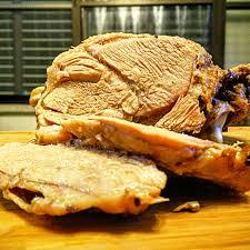 slow cooked turkey thighs foodstuff guru