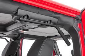 nerf gun jeep solid steel grab handles for 2007 2017 jeep wrangler jks rough