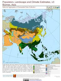 Asia Maps by Biomes Asia Biomes