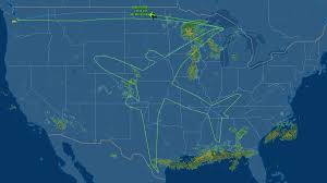 Endeavor Air Route Map by Boeing U0027s Plan To Draw An Airplane In The Sky Dumped At Least