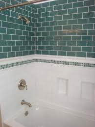Blue Tile Bathroom by Bathroom Glass Subway Tile Navpa2016