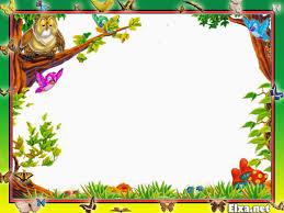 Jungle Theme Invitation Card Png Frame Kids Frame Png Children Frame For Photo Children Frame