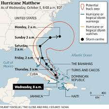 Mexico Hurricane Map by Florida Braces For Hurricane Matthew After Storm Slams Southern