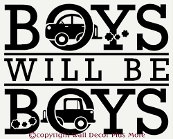 boys will be boys wall sticker decals saying with cars boys will be boys wall sticker decals saying with cars loading zoom