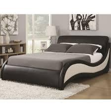 King Upholstered Platform Bed Niguel Modern King Upholstered Platform Bed From Coaster 300170ke