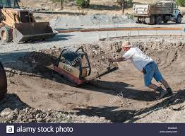 plate compactor stock photos u0026 plate compactor stock images alamy