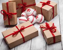 stack of christmas handcraft gift boxes u2014 stock photo talevr