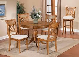 dining room set light oak fusion counter height dining room set light oak dining group with good chairs classic round pedestal