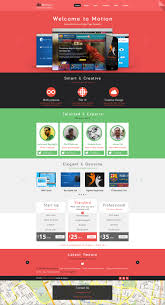 website templates free download psd motion single page psd web template for free by begha on deviantart