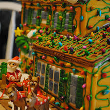 gingerbread house decorating contest flourish king arthur flour