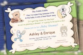 nursery rhyme baby shower nursery rhyme baby shower invitations diabetesmang info
