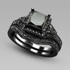 black cubic zirconia engagement rings 13 best at side images on jewelry rings and