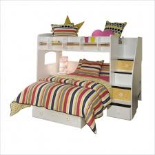 full over full bunk beds with stairs three dimensions lab
