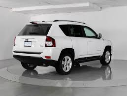 jeep compass 2016 black used 2016 jeep compass latitude 4wd suv for sale in west palm fl