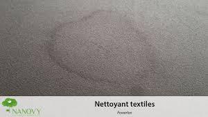 enlever auréole canapé tissu nanovy powertex nettoyant textiles