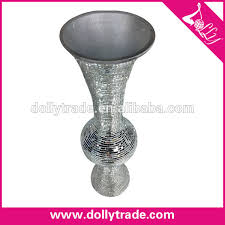 Silver Vase Wholesale 24 Inch Huge Cheap Wholesale Silver Mirror Floor Vase Buy 24