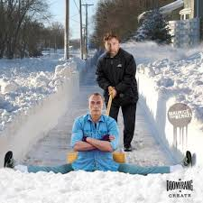 Shoveling Snow Meme - this is how chuck norris shovels the snow imgur