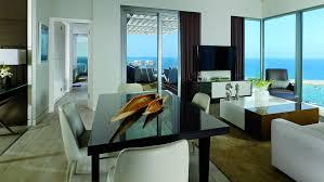 Executive Dining Room One Bedroom Penthouse In Israel The Ritz Carlton Herzliya