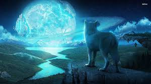wolf and moon wallpaper 67 images