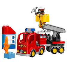 ferrari lego truck lego duplo town fire truck 10592 buildable toy for 3yearolds ebay