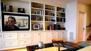 TV In Millwork Traditional Family  Games Room San Francisco - Family room definition