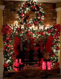 Chimney Decoration Ideas Decorate Your Fireplace For Christmas 20 Ideas To Inspire