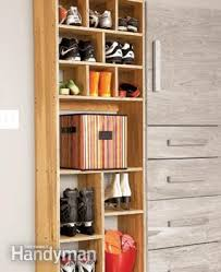 shoe and boot cabinet garage storage backdoor storage center family handyman