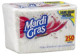 mardi gras napkins free 250 ct mardi gras napkins at kmart hunt4freebies