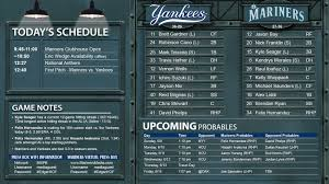 mariners game central u2014 june 9 vs new york yankees