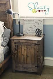 Build Wooden End Table by Restoration Hardware Nightstand Via Shanty 2 Chic Furniture