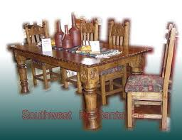 hand crafted kitchen tables southwestern kitchen dining tables southwest by santa fe