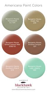 Benjamin Moore 2017 Colors by Americana Inspired Interior And Exterior Paint Colors By Benjamin