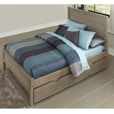 Durango Youth Bedroom Furniture Highlands Alex Wood Storage Bed In Driftwood Humble Abode