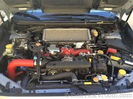 2016 subaru wrx turbo mishimoto performance cold air intake 2015 subaru wrx sti build