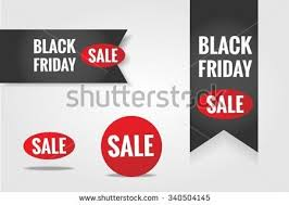 black friday sale sign one day sale deal signs big stock vector 380187421 shutterstock