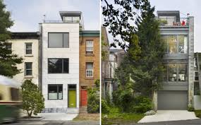 Townhouse Design Ideas Rooftop Garden In Modern Townhouse Architecture Townhouse