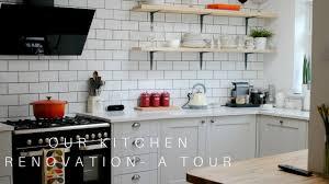 our kitchen renovation a tour howdens smeg youtube