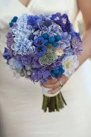 Wedding Flowers Blue Wow Wow Was Für Ein Schöner Brautstrauß Warme Blautöne