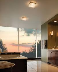 bathroom bathroom ceiling lights ideas led lamp flush modern
