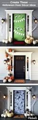 front door decorating ideas for spring winter halloween decoration