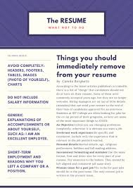 What Should The Font Size Be On A Resume Career Services Ibt College Toronto Canada