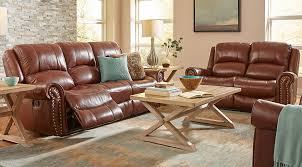 Rooms To Go Living Room Furniture by Manual U0026 Power Reclining Living Room Sets With Sofas