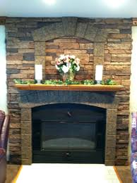gray stone fireplace wall color and tv ideas before rework stone