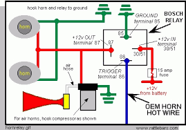 bosch 4 pin relay wiring diagram wiring diagram and schematic